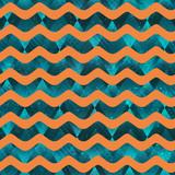 Water geometric seamless pattern