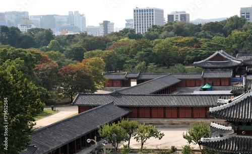 Fotobehang Seoel Changgyeonggung Palace in Seoul
