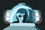 astronaut face - 179655720