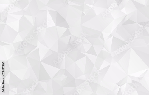Abstract Light gray mosaic background - 179657302