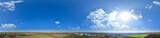 360° Skypanorama über Worms am Rhein