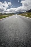 road through grassland in China