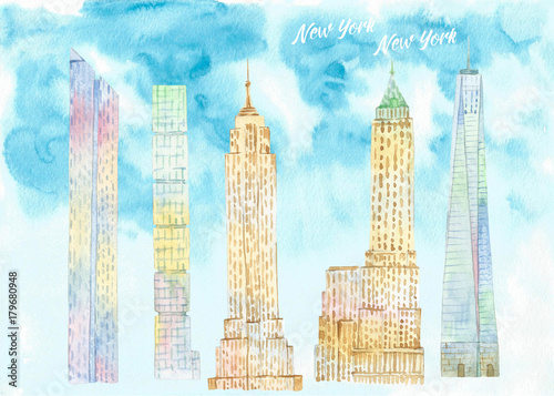 Papiers peints New York New York's Skyscrapers