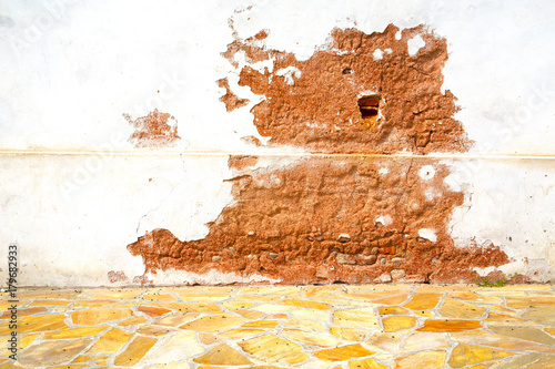 Foto op Canvas Milan milan in italy old church concrete wall background stone