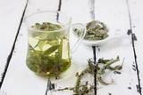 melissa officinails lemon balm tea - 179683939
