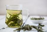 melissa officinails lemon balm tea - 179683963