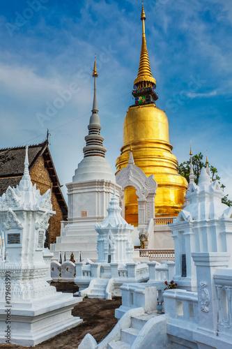 Fotobehang Thailand Wat Suan Dok temple, Chiang Mai, Thailand