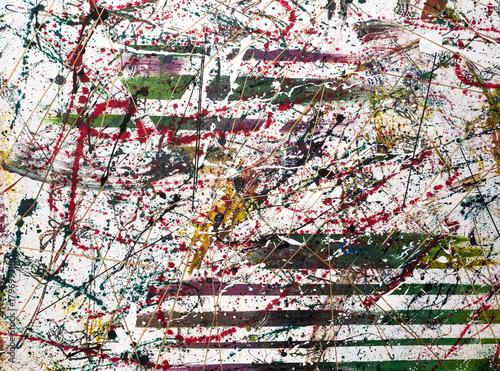 abstrakte textur aus farbflecken, farbe, expressionistisch плакат
