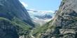 Mountain top glacier