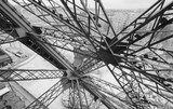 Structure of Eiffel Tower, infrared view