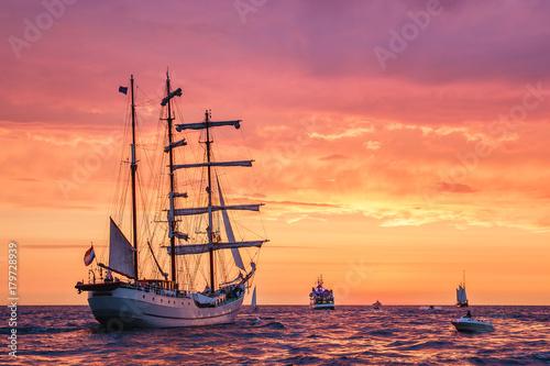 Żaglowce na Hanse Sail w Rostocku