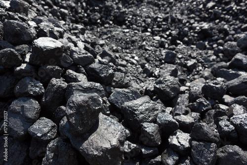 Fototapeta Kohle für die Eisenbahn