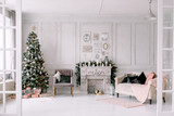 New Year's interior and Christmas jewelry - 179740749