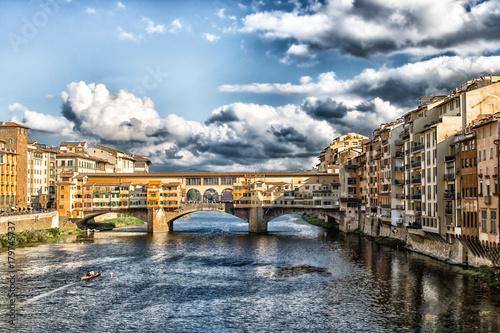 Papiers peints Florence Ponte Vecchio in Florenz 1