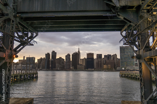 Foto op Aluminium New York Under the Wharf, New York City
