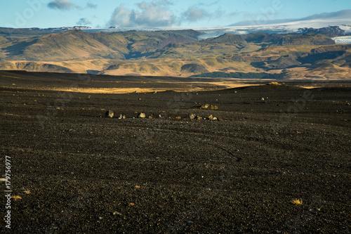 Papiers peints Gris traffic Iceland landscape.