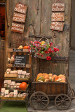 Vegetable stand in Arezzo, Tuscany, Italy