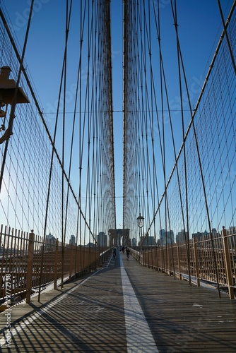 Aluminium Brooklyn Bridge voyage, Etats-Unis, New York