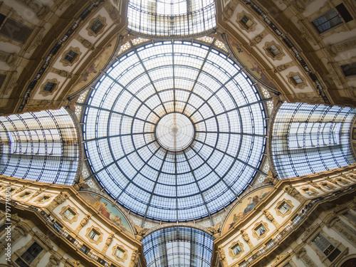 Foto op Canvas Milan galleria vittorio emanuele