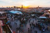 Square in Morocco - 179779920