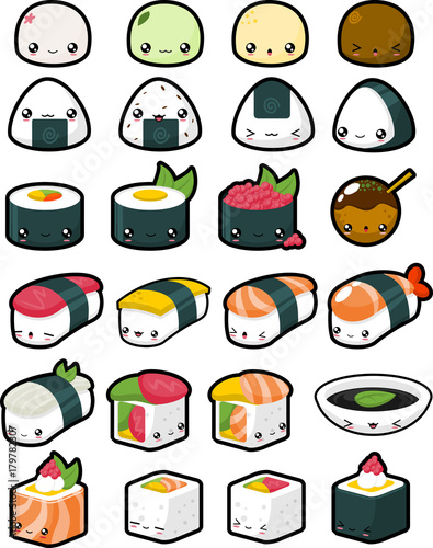 Cute Japanese Food - 179782307