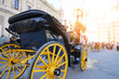 Carriage ride in historic center of Sevilla