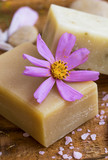Spa natural soap with floral extracts, spa and wellness products homemade - 179820557