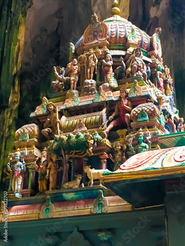 Foto op Canvas Kuala Lumpur Hindu Architecture