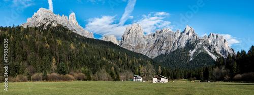 Primiero, panoramica alpina