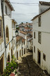 sight of the streets of the Portuguese city of Castelo de Vide.