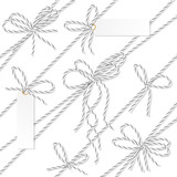 Bakers twine bows, ribbons and labels - 179841397