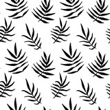 Vector seamless pattern with leaves - 179842188