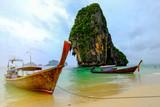 Długiego ogonu plaża na Andaman morzu i pięknej plaży w Krabi prowinci Tajlandia.