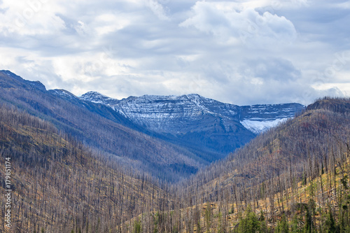 Aluminium Blauwe hemel Wyoming Landscape
