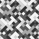 Modern Stylish Halftone seamless pattern