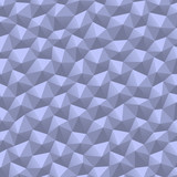 Triangle geometric abstract white paper pattern background