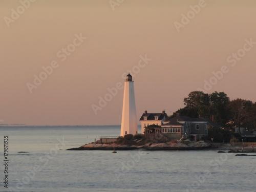 Fotobehang Vuurtoren New London Harbor Lighthouse