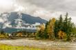 Train Bridge in Hope, Fraser Valley, BC, British Columbia, Canada