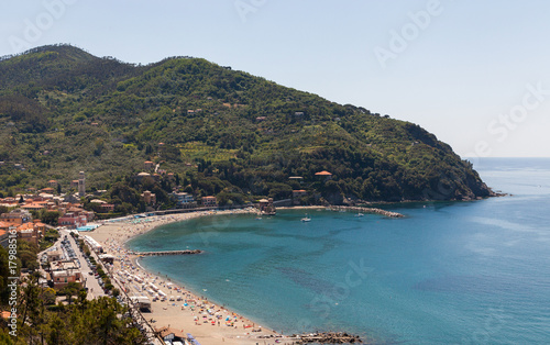 Fotobehang Liguria Plage italienne
