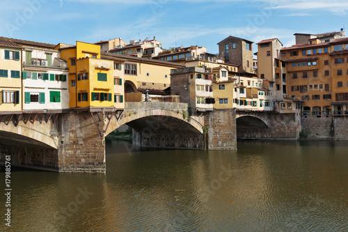 Aluminium Florence Ponte Vecchio in Florence , Italy