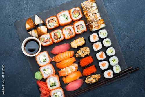 Aluminium Sushi bar Japanese food sushi