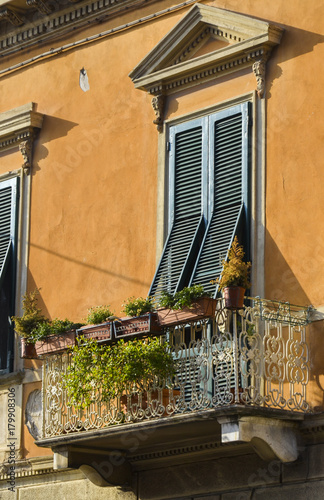 Provence windows. Italy Poster