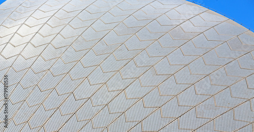 background texture of a ceramic roof