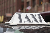 Taxi sign in Toronto - 179940106