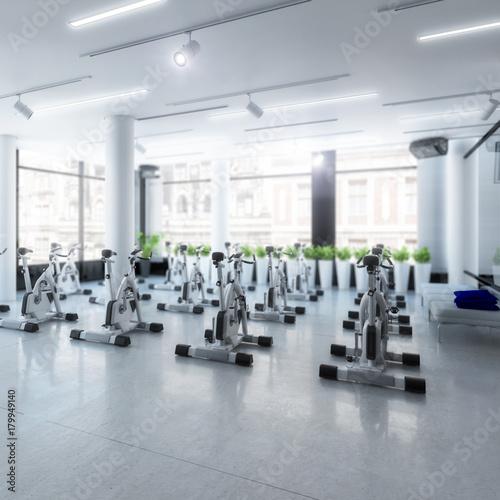 Ergometer im Fitness-Zentrum (Focus)