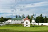 Svyatoozerskaya Valday Iversky Bogoroditsky monastery. The Church of Iakov Borovichsky and the Tomb Panaeva with a chapel - 179949989