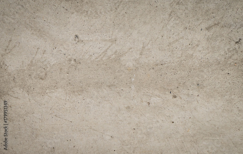 Poster Betonbehang Concrete floor with splash dirty color for texture and background