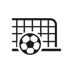 Football goal icon