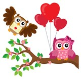 Valentine owls theme image 7 - 179969118