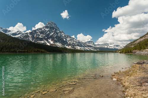 Fotobehang Canada Waterfowl Lakes